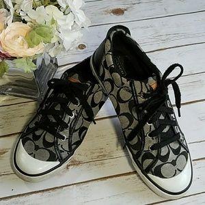 COACH Leopard Barrett Sneakers